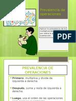 Prevalencia de Operaciones y Expresiones Con Parentesis