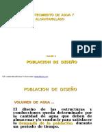 Clase 02-Poblacion de Diseño