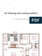 Air Heating and Cooling Systems (Ducts and Fan)