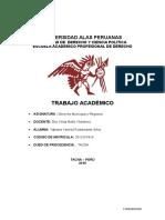 Fustamante Silva, Yajhaira- Der. Municipal y Regional