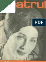 Revista Teatrul, nr. 10, anul X, octombrie 1965