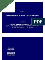 Clase 04-Linea de Conduccion y Reservorio de Almacenamiento
