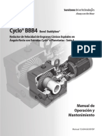 Cyclo BBB - Manual de Operacion y Mantencion