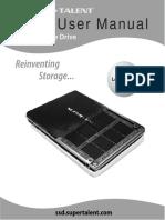 SSD User Manual