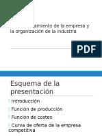 El Comportamiento de La Empresa y Laión(CLASE4)