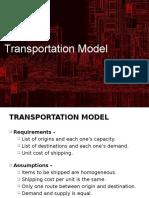 9. Transportation Model.ppt