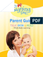 Baby Signing Time Guide Digital Sta