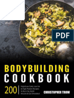 Bodybuilding Cookbook_ 200 High_Low Carb, Low Fat & High _. Diet, Low Carb Cookbook Book 1) - Christopher Trow