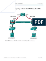 8.4.1.3 Lab -Configure Site-to-Site VPN using CLI.pdf