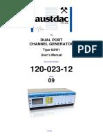 Austdac GSW Manual