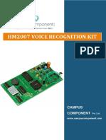 Speech Recognition Kit