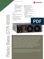 Especificacao Radio Base Motorola GTR800