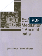 The Two Traditions of Meditation in Ancient India Bronkhorst 1a6f519717fb8