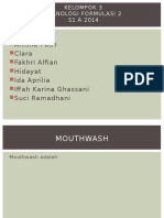 Ppt Mouthwash