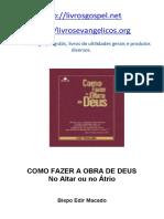 Como fazer a obra de Deus.pdf