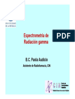 Teorico Espectrometria Gamma