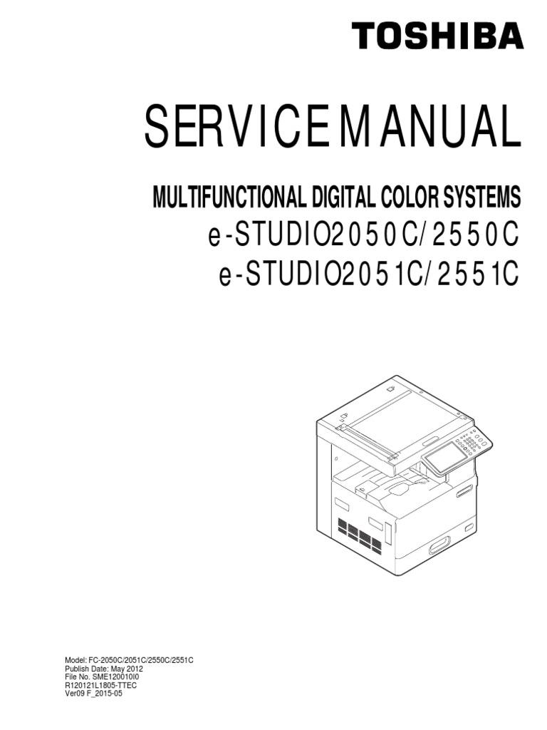 toshiba 2050c 2550c 2551c service manual microsoft windows rh scribd com toshiba 2050c manual toshiba studio 2050c manual