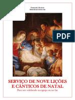 Serviço de Nove Lições e Cânticos de Natal