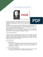 Plan de Marketing de Coca Cola