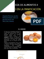 El Huevo en La Panificacion Final
