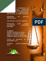 ACT 30 Aspectos Legales de La Evaluación Del Desempeño y La Importancia Que Aporta Al Clima Laboral