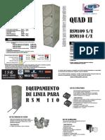 Folleto North Rsm109 y Rsm110 (Quad II)