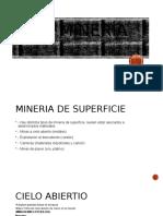 La Minería Ppt