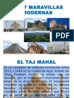 LAS 7 MARAVILLAS MODERNAS.pptx