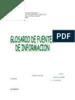 Glosario Fuentes Informacion Original