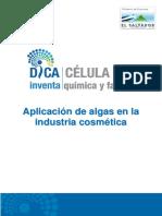 Aplicación de Algas en Industrias Cosméticas