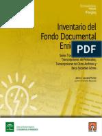 Ifo9_09. Fondo Documental E. Otte. Transcrip Indias, Protocolos, Otros Archivos