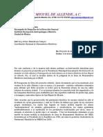 Carta al INAH de Va Por San Miguel de Allende A.C.