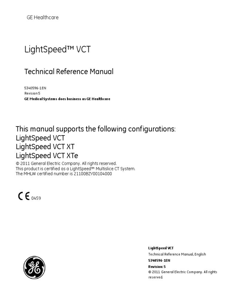 ge lightspeed ct technology computing and information technology rh pt scribd com