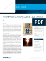 AB FDM InvestmentCasting