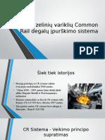 Dyzelinių Variklių Common Rail Degalų Įpurškimo Sistema