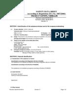 MSDS Ethyl Vanillin