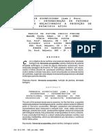 Vernonia Scorpioides (Lam.) Pers. Asteraceae - Determinação de Fatores Nutricionais Relacionados a Produção de Princípio Ativo