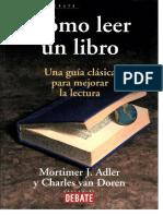 Como Leer Un Libro