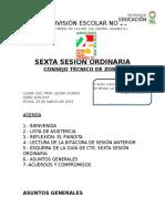Agenda Quinta