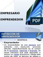 empresario, emprendedor