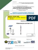 Pemasangan PLTS