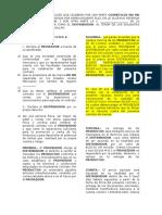 PAI PAI. CONTRATO DE DISTRIBUCIÓN