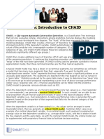 A Basic Introduction to CHAID