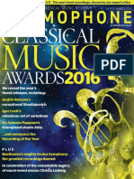 Gramophone Magazine - Awards 2016