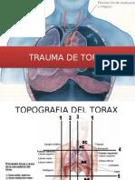 Trauma de Torax Expo