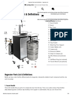 Kegerator Parts List & Definitions __ Kegerator