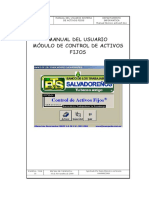 Manual de Usuario Activo Fijo