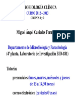 Presentacion Mbclinica Grupo 12 Curso 1213