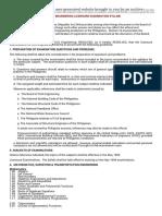 The Civil Engineering Licensure