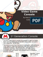 History of Video Game Console